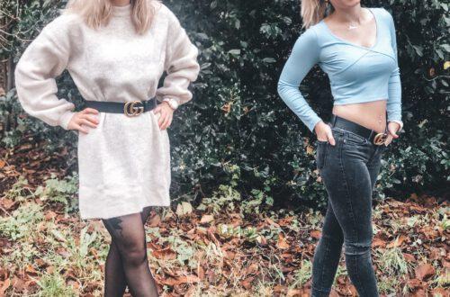 Beide outfits van Chiquelle