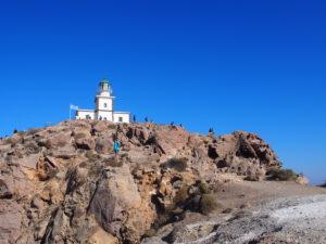 De vuurtoren in Faros