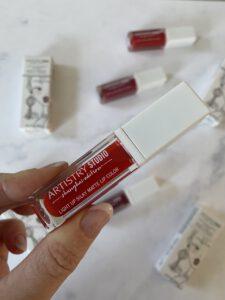 Artistry Studio de Light Up Silky Matte Lip Color (shanghai edition) Cherry Red