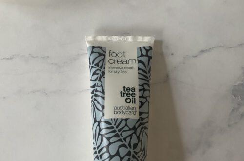 Review Australian Bodycare Foot Cream