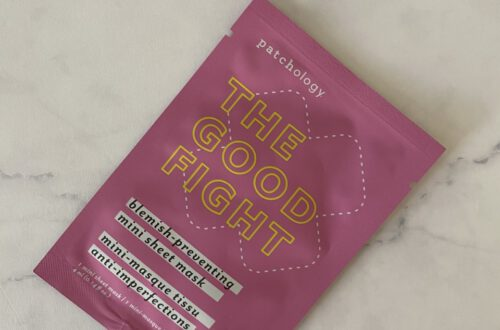 Review: Patchology The Good Fight Mini Mask