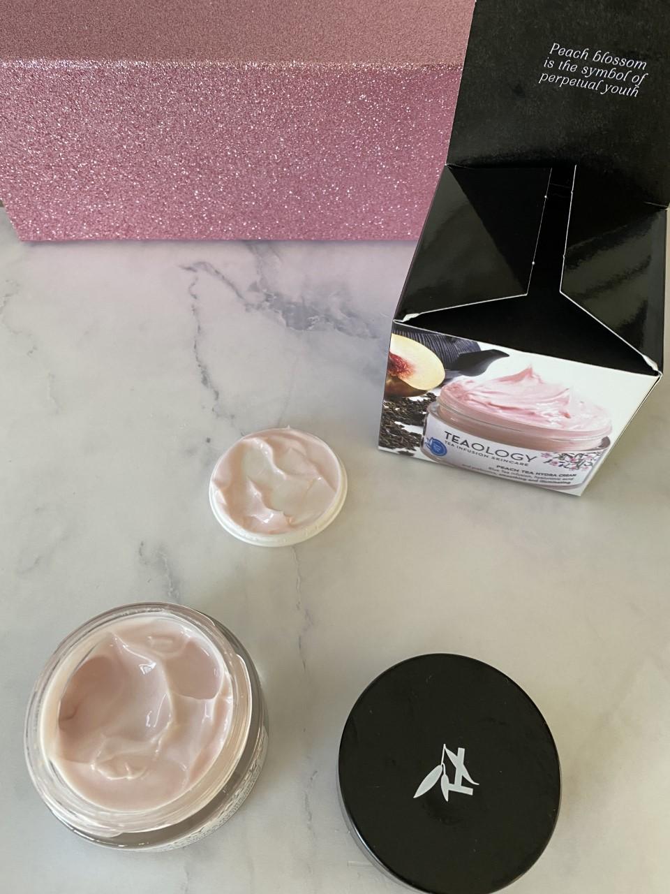 Review: Teaology Peach Tea Hydra Cream