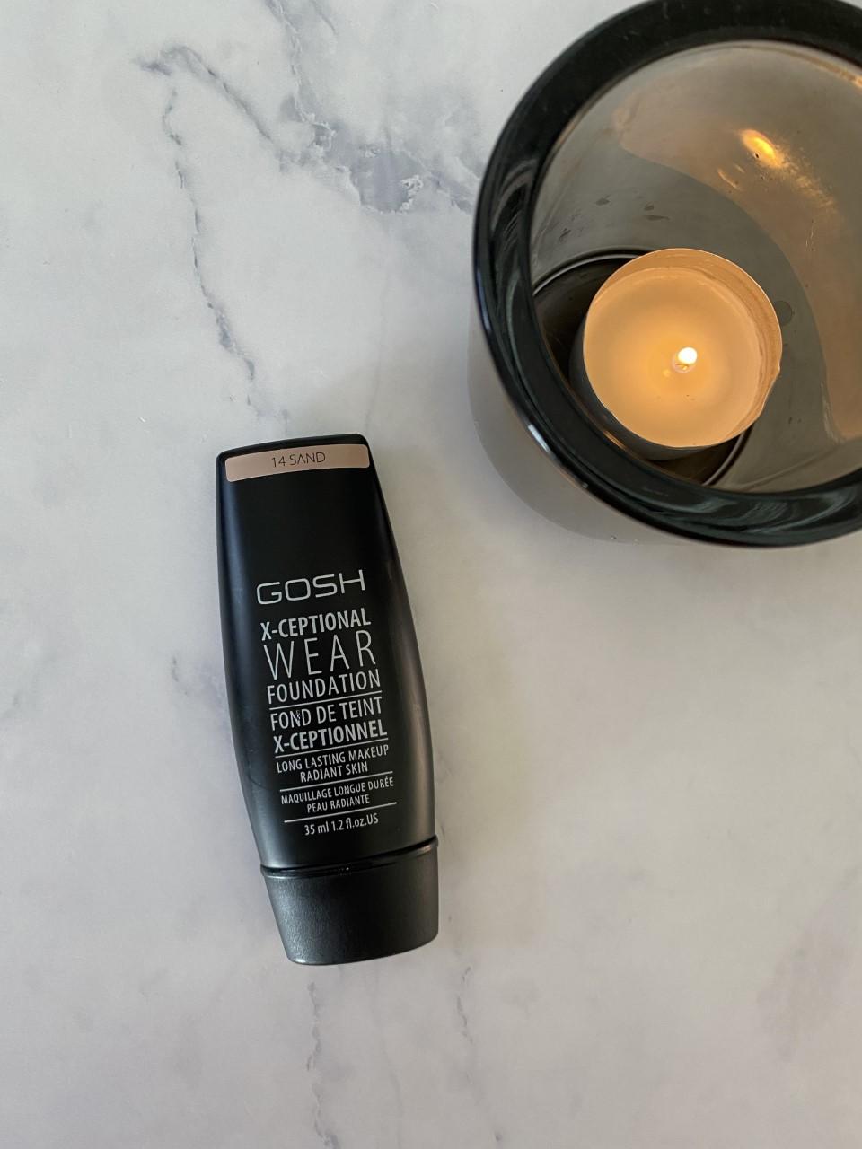 Review: Gosh X-Ceptional Wear Foundation