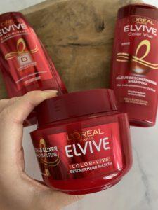 Review: L'Oréal Elvive Color Vive beschermend haarmasker