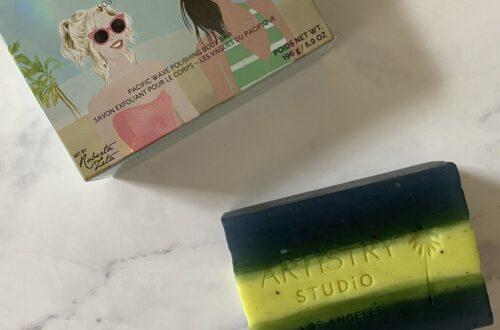 Review: Artistry Studio Pacific Wave Polishing Body Bar